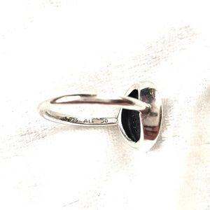 Pandora Jewelry - Pandora Signature Pave Ring size 5